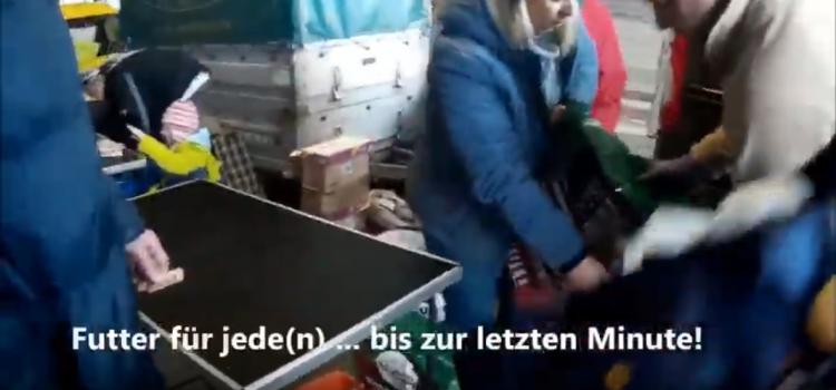 Obdachlosenprojekt, Wien, Praterstern Januar 2020
