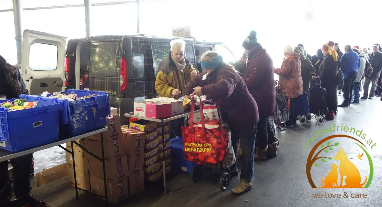 Obdachlosen-Projekt Praterstern, Wien: Hilfe für die Tiere und Ihre Betreuer